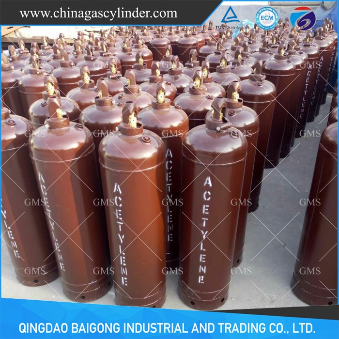 China Dissolved Acetylene Gas Cylinder Manufacturers and
