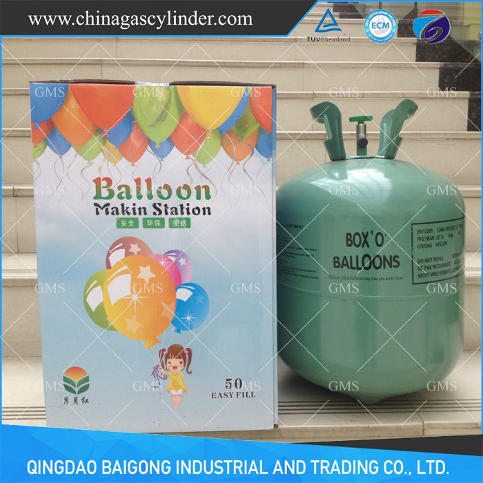 50LB Disposable Helium Tank